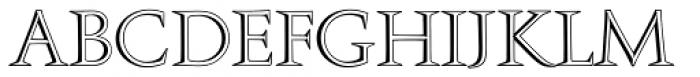 Augustea Open Com Regular Font UPPERCASE