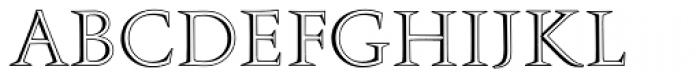 Augustea Open EF Font UPPERCASE