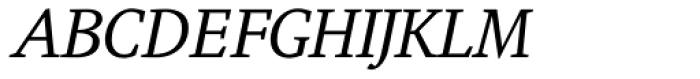Augustin Italic Font UPPERCASE