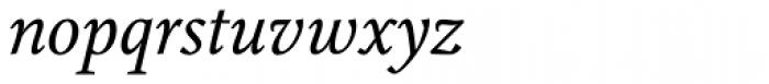 Augustin Italic Font LOWERCASE