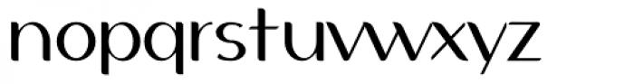Auloe Light Font LOWERCASE
