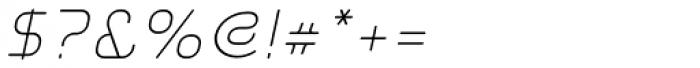 Aunchanted Elite Oblique Font OTHER CHARS