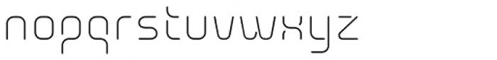 Aunchanted Elite Font LOWERCASE