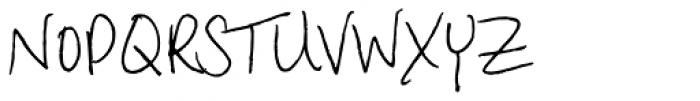 Aundee BTN Font UPPERCASE