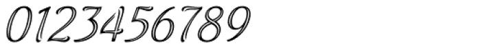 Aure Wye CJ Italic Font OTHER CHARS