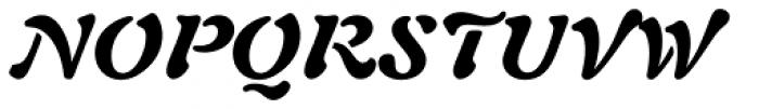 Auriol Black Italic Font UPPERCASE