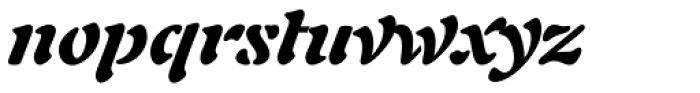 Auriol LT Std Black Italic Font LOWERCASE