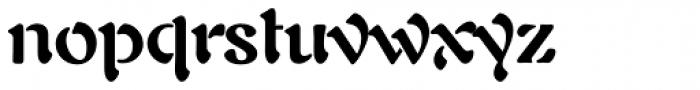 Auriol LT Std Bold Font LOWERCASE