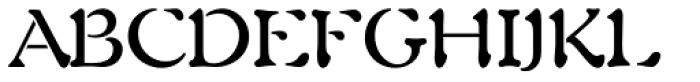 Auriol LT Std Font UPPERCASE