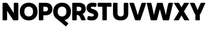 Auro Black Font UPPERCASE