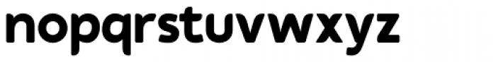 Auro Bold Font LOWERCASE