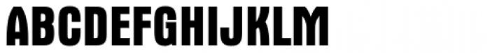 Aurora Bold Condensed Font UPPERCASE