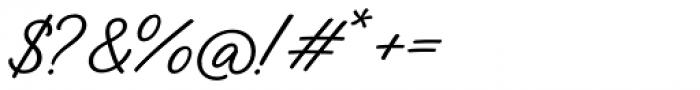 Austen Script Normal Font OTHER CHARS