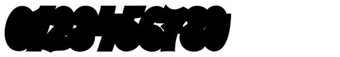 Austine Script Regular Extruded Font OTHER CHARS