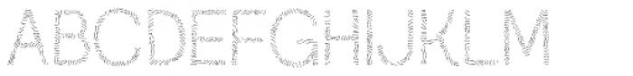 Austral Sans Maplines Light Font UPPERCASE
