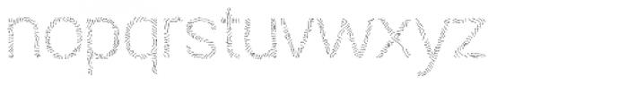 Austral Sans Maplines Light Font LOWERCASE