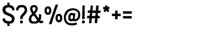 Austral Sans Rough Regular Font OTHER CHARS