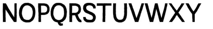Austral Sans Rough Regular Font UPPERCASE