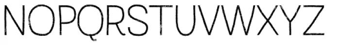 Austral Sans Rust Thin Font UPPERCASE