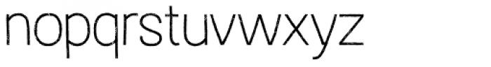 Austral Sans Rust Thin Font LOWERCASE