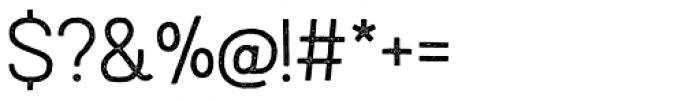 Austral Sans Stamp Light Font OTHER CHARS
