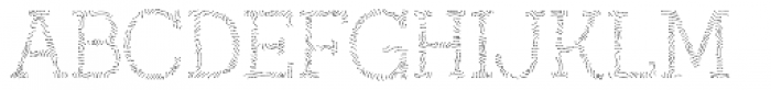 Austral Slab Maplines Light Font UPPERCASE