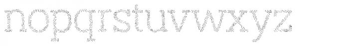 Austral Slab Maplines Light Font LOWERCASE