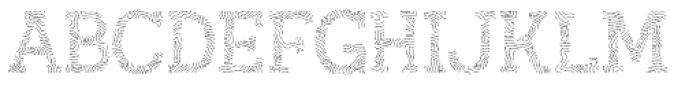 Austral Slab Maplines Regular Font UPPERCASE