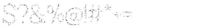 Austral Slab Spots Light Font OTHER CHARS