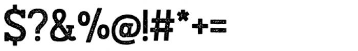 Austral Slab Stamp Regular Font OTHER CHARS
