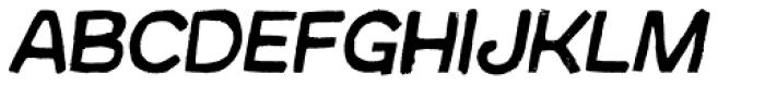 Australia Skate Italic Font LOWERCASE