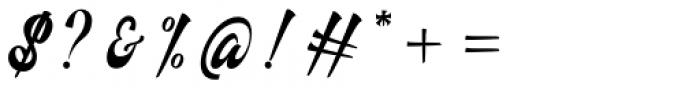 Authem Regular Font OTHER CHARS