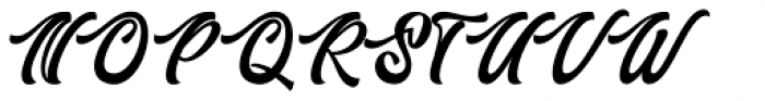 Authem Regular Font UPPERCASE