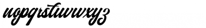 Authem Regular Font LOWERCASE