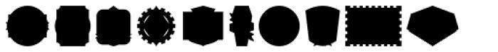Authentic Labels Font UPPERCASE