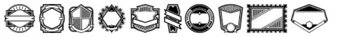 Authentic Labels Font LOWERCASE