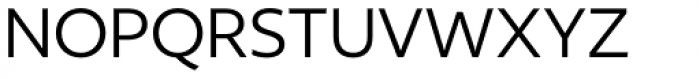 Author Regular Font UPPERCASE
