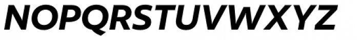 Author Semibold Italic Font UPPERCASE