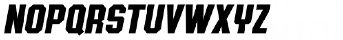 Authority Italic Font UPPERCASE