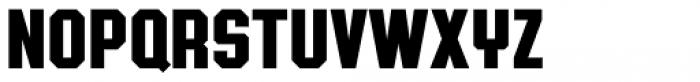 Authority Regular Font UPPERCASE