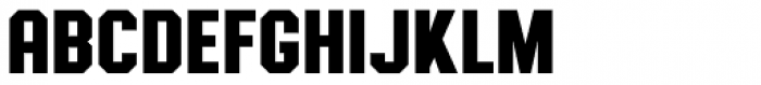 Authority Regular Font LOWERCASE
