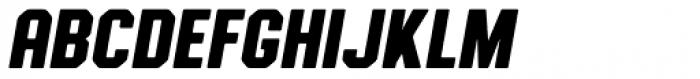 Authority Rounded Italic Font UPPERCASE