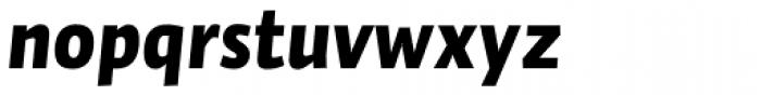 Auto Pro Black Italic 1 Font LOWERCASE