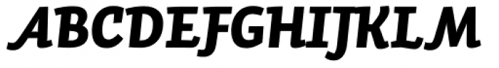 Auto Pro Black Italic 2 Font UPPERCASE