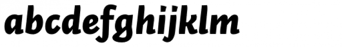 Auto Pro Black Italic 2 Font LOWERCASE