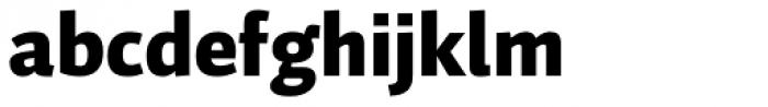 Auto Pro Black Font LOWERCASE