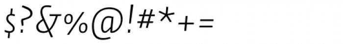 Auto Pro Light Italic 1 Font OTHER CHARS