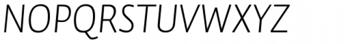 Auto Pro Light Italic 1 Font UPPERCASE