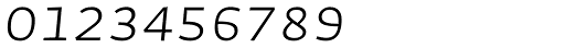 Auto Pro Light Italic Small Caps Font OTHER CHARS