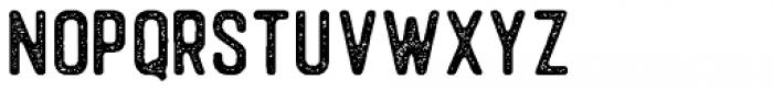 Autogate Sans Stamp Font LOWERCASE